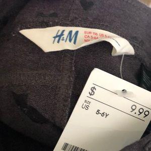 Girls Brand New H&M Heart Leggings